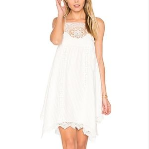 Saylor Ellis dress white crochet eyelet
